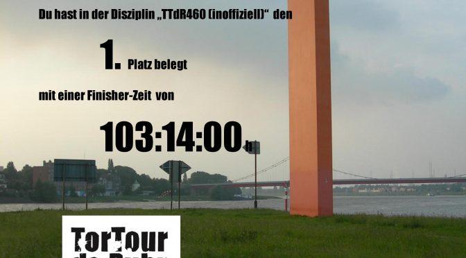 TorTour de Ruhr 2018 – 460km nonstop – Eine Nachbetrachtung