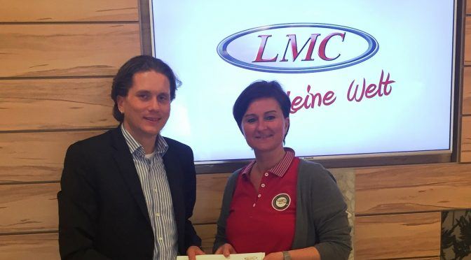 Sponsoring durch LMC Caravan